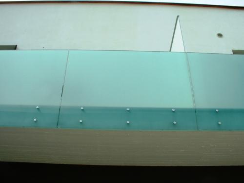 Balconata a vetrate