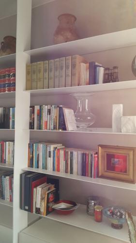 Dettaglio libreria salotto