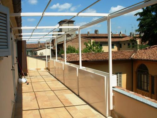 Fioriere e copertura per balconi