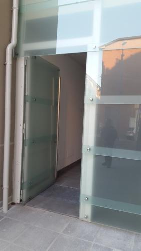 portante struttura a vetro