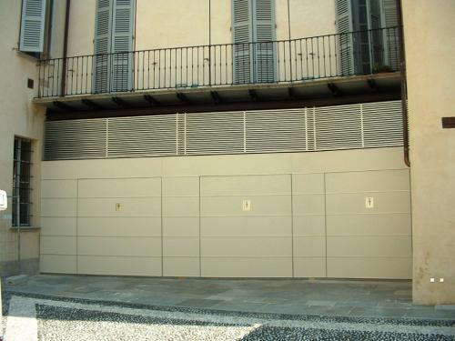 Rivestimento parete esterna garage